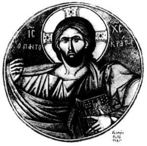Christ-Pantocrator-Kontoglou