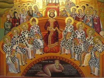 Holy Fathers of the 1st Ecumenical council