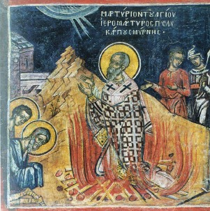 Image result for icon of st. polycarp