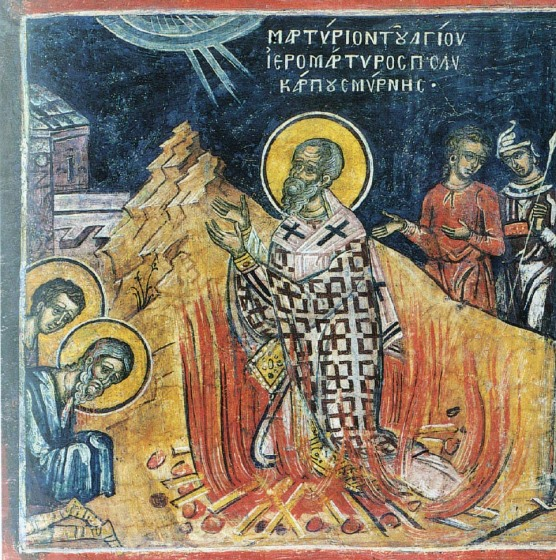 Image result for icon polycarp